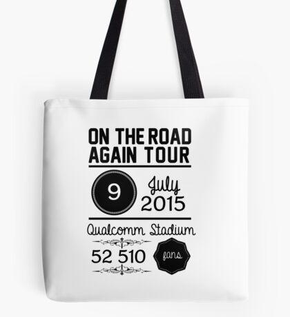 9th July - Qualcomm Stadium OTRA Tote Bag