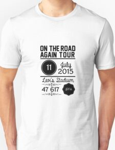 11th July - Levi's Stadium OTRA Unisex T-Shirt