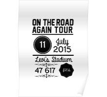 11th July - Levi's Stadium OTRA Poster
