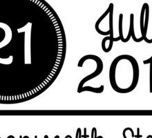 21st July - Commonwealth Stadium OTRA Sticker