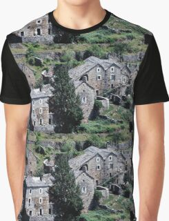 Paysages vieux village France landscapes 23 (c)(h) canon eos 5 by Olao-Olavia / Okaio Créations   1985 Graphic T-Shirt