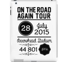 28th July - Arrowhead Stadium OTRA iPad Case/Skin