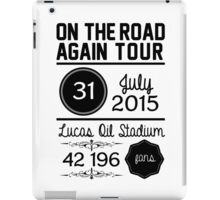 31st July - Lucas Oil Stadium OTRA iPad Case/Skin