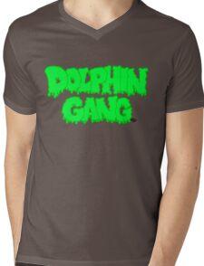 DOLPHIN GANG UNITE Mens V-Neck T-Shirt