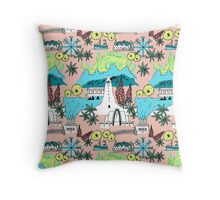 Icelandic Dream Throw Pillow