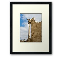 The Parthenon, Acropolis, Athens, Greece, UNESCO word heritage site Framed Print