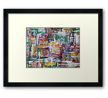 ABSTRACT 429 Framed Print