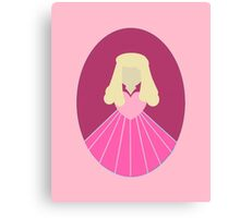 Simplistic Princess #2 Canvas Print