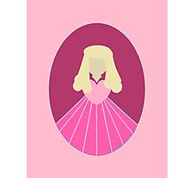 Simplistic Princess #2 Photographic Print