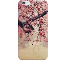 Dewy Crab-apples  iPhone Case/Skin