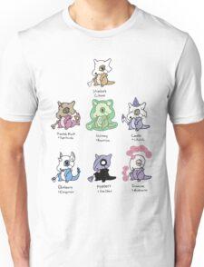 Cubone Variations Unisex T-Shirt