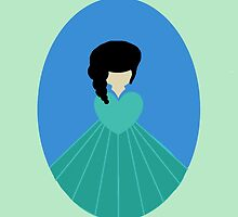 Simplistic Princess #3 by Laura Marie