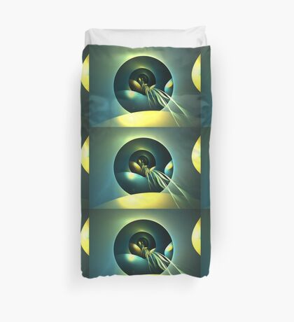 Kuiper Belt Journey Duvet Cover