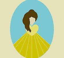 Simplistic Princess #4 by Laura Marie