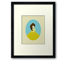 Simplistic Princess #4 Framed Print
