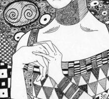 Portrait of Adele Bloch-Bauer I Sticker