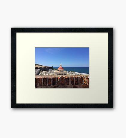 El Moro Framed Print