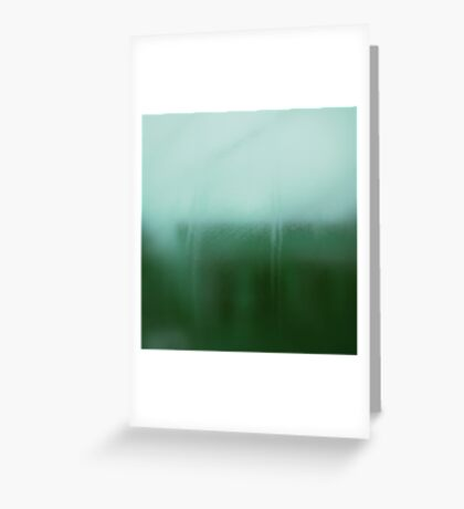 Abstract Modern Green Landscape, #redbubble  Greeting Card