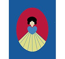 Simplistic Princess #6 Photographic Print
