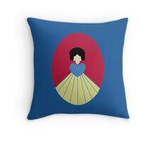 Simplistic Princess #6 Throw Pillow