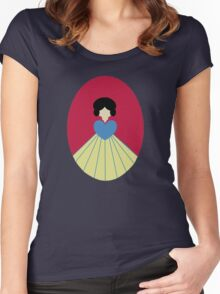 Simplistic Princess #6 Women's Fitted Scoop T-Shirt