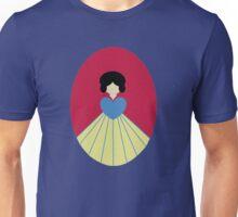 Simplistic Princess #6 Unisex T-Shirt
