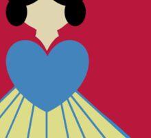 Simplistic Princess #6 Sticker