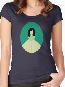 Simplistic Princess #7 Women's Fitted Scoop T-Shirt