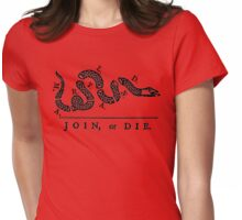 Maryland Join Or Die Womens Fitted T-Shirt