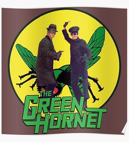 Funny Green Hornet Poster
