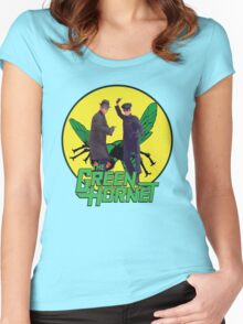 Funny Green Hornet Women's Fitted Scoop T-Shirt