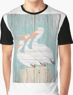 Pelican Wood Graphic T-Shirt