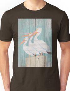 Pelican Wood Unisex T-Shirt