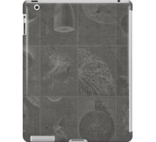 Jules Verne moon and rockets iPad Case/Skin