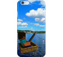 Minecraft: Fishing in reallife iPhone Case/Skin