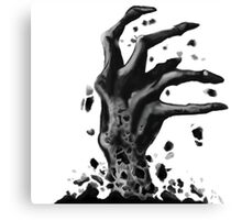 Undead hand Canvas Print