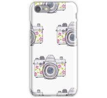 Photocamera Watercolor Print Design iPhone Case/Skin