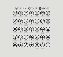 Assassin Scout Badges Unisex T-Shirt