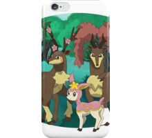 Sawsbuck forest- Oval iPhone Case/Skin