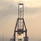 Container Crane by Elizabeth  Lilja