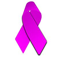 Pink Breast Cancer Ribbon Photographic Print