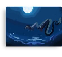 Spirited away flying scene Canvas Print