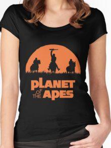 Monkey Warriors Women's Fitted Scoop T-Shirt