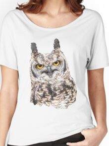 African Spotted Eagle Owl Women's Relaxed Fit T-Shirt