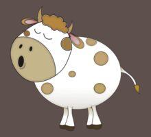 Cute Moo Cow Cartoon Animal Baby Tee