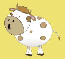 Cute Moo Cow Cartoon Animal Kids Clothes