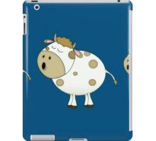 Cute Moo Cow Cartoon Animal iPad Case/Skin