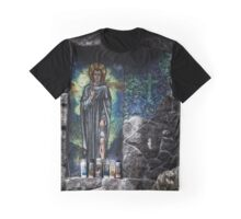 Saint on the wall Graphic T-Shirt