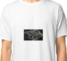 Nashville Predators Neon  Classic T-Shirt