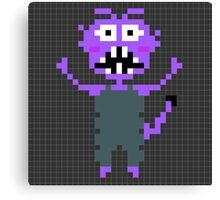 Pixel Monster Canvas Print